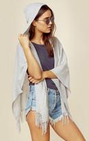 Minnie Rose cashmere hoodie cape
