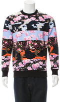 Givenchy Printed Crew Neck Sweatshirt