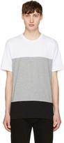 Rag & Bone White & Grey Precision T-Shirt