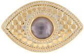 Anna Beck 18K Gold Plated Sterling Silver Amethyst Third Eye Ring