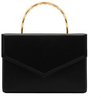 Amina Muaddi Pernille leather mini bag