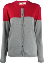 Marni Colour-Block Knitted Cardigan