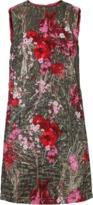 Dolce & Gabbana Lurex Jacquard Shift Dress