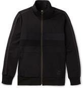Paul Smith Panelled Jersey Zip-Up Sweatshirt