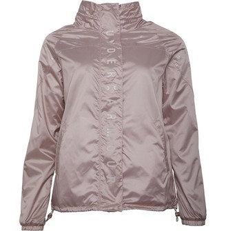 Under Armour Womens UA Storm Recover Irridescent Woven Jacket Pink