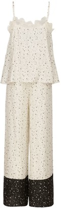 Ethereal London Ivory Kaya Loungewear Long