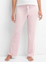 Maternity print modal sleep pants