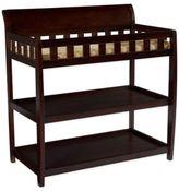DeltaTM Children Bentley 2-Shelf Changing Table in Chocolate