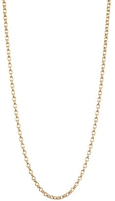 "Tamara Comolli 18K Rose Gold Belcher-Link Chain Necklace/16""-20"""