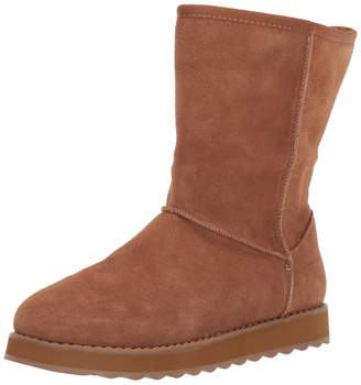 Skechers Women's Keepsakes 2.0-First Flurry-Suede Upper Mid Pull On Cool Weather Boot Calf