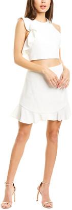 Black Halo Abra 2Pc Mini Dress