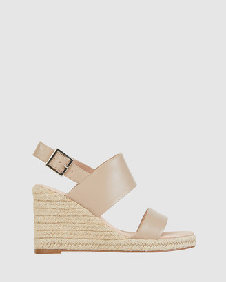 Jane Debster - Women's Nude Wedge Sandals - Dice - Size One Size, 37 at The Iconic