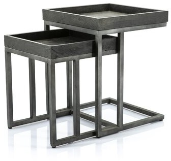 Thumbnail for your product : By Boo Tray Top Frame Nesting Tables