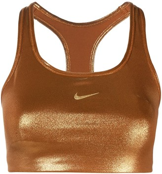 Nike Clash shimmer sports bra