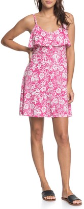 Roxy Real Friends Floral Minidress