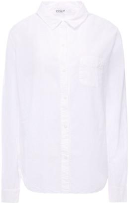 Stateside Frayed Cotton Shirt