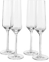Schott Zwiesel Pure Tritan Wedding Champagne Flutes, Set of 4