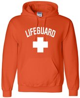Go All Out Screenprinting Adult Lifeguard by Go All Out Sweatshirt Hoodie