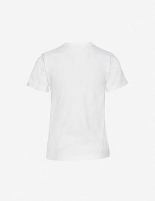 Comme des Garcons Heart applique pure cotton T-shirt