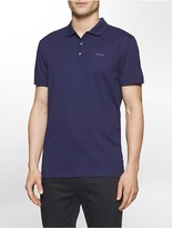 Calvin Klein Classic Fit Interlocked Jersey Polo Shirt