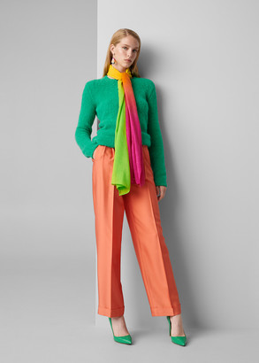 Ralph Lauren Darcy Washed Silk Pant