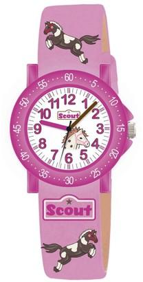 Scout Girls 'Watch Analogue Quartz Fabric 280375000