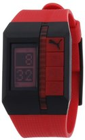 Puma Unisex PU910541001 Beat Red Watch