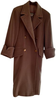 Hermes Camel Wool Coats