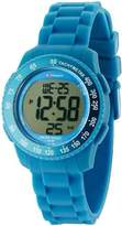 Sector Unisex Digital Watch with LCD Dial Digital Display and Blue PU Strap R3251572115