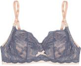 Elle Macpherson Intimates Cloud Swing lace and stretch-cotton jersey nursing bra