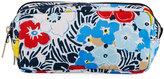 Le Sport Sac Kevyn Snake-Print Cosmetic Pouch, Aqua Snake