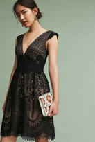 Monique Lhuillier Buckingham Lace Dress