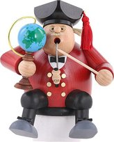 KWO Incense smoker Sitting Chubby Professor
