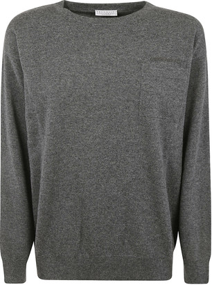 Brunello Cucinelli Chest Patch Sweater