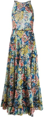 Missoni Sleeveless Metallic-Knit Dress