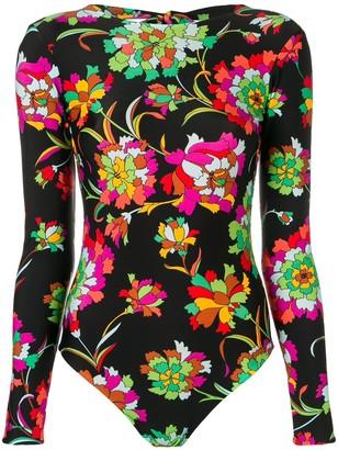 La DoubleJ long-sleeved backless surf suit