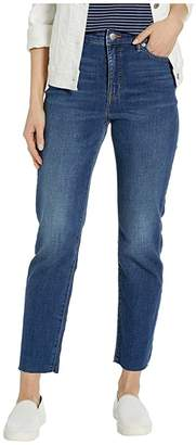Lauren Ralph Lauren Regal Straight Ankle Jeans (Blue Fields Wash) Women's Jeans