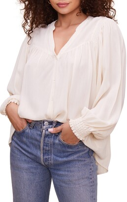 ASTR the Label Piper Peasant Top