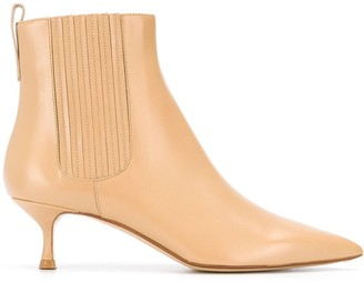 Francesco Russo Elasticated Side Panel Boots