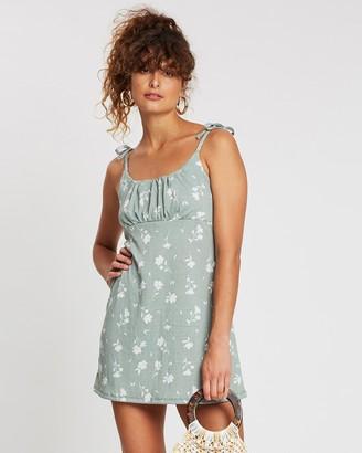 Cotton On Alisa Gathered Strappy Mini Dress