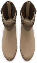 Zara Flat Ankle Boot With Buckle