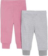 Skip Hop Pink & Gray Geometric Lounge Pants Set - Infant