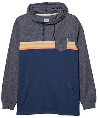 Rip Curl Surf Revival Hoodie Long Sleeve (Navy) Men's Clothing