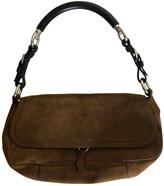 Prada Camel Suede Handbags