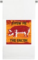 Mariasch Studios Show Me the Bacon Kitchen Towel