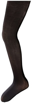 Capezio Hold and Stretch Footed Tights (Infant/Toddler/Little Kids/Big Kids) (Black) Girl's Casual Pants