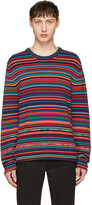 Paul Smith Multicolor Striped Sweater