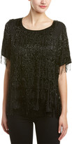 Scotch & Soda Bead Fringe Party Top