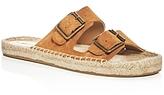 Soludos Elba Double Buckle Espadrille Sandals