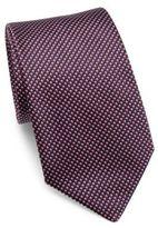 Armani Collezioni Micro-Printed Silk Tie